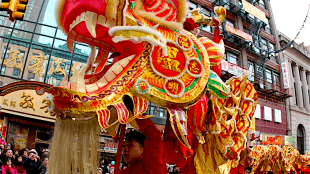 Chinese drakendans (foto d-sr.com)