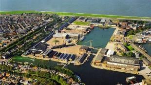 DenHelders Willemsoord vanuit de lucht (foto Van Dongen-Koschuch Architects and Planners)