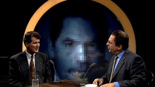 Dirk Scheringa met Ischa Meijer (foto YouTube)