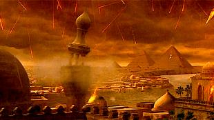 Hail in Egypt (7th plague)