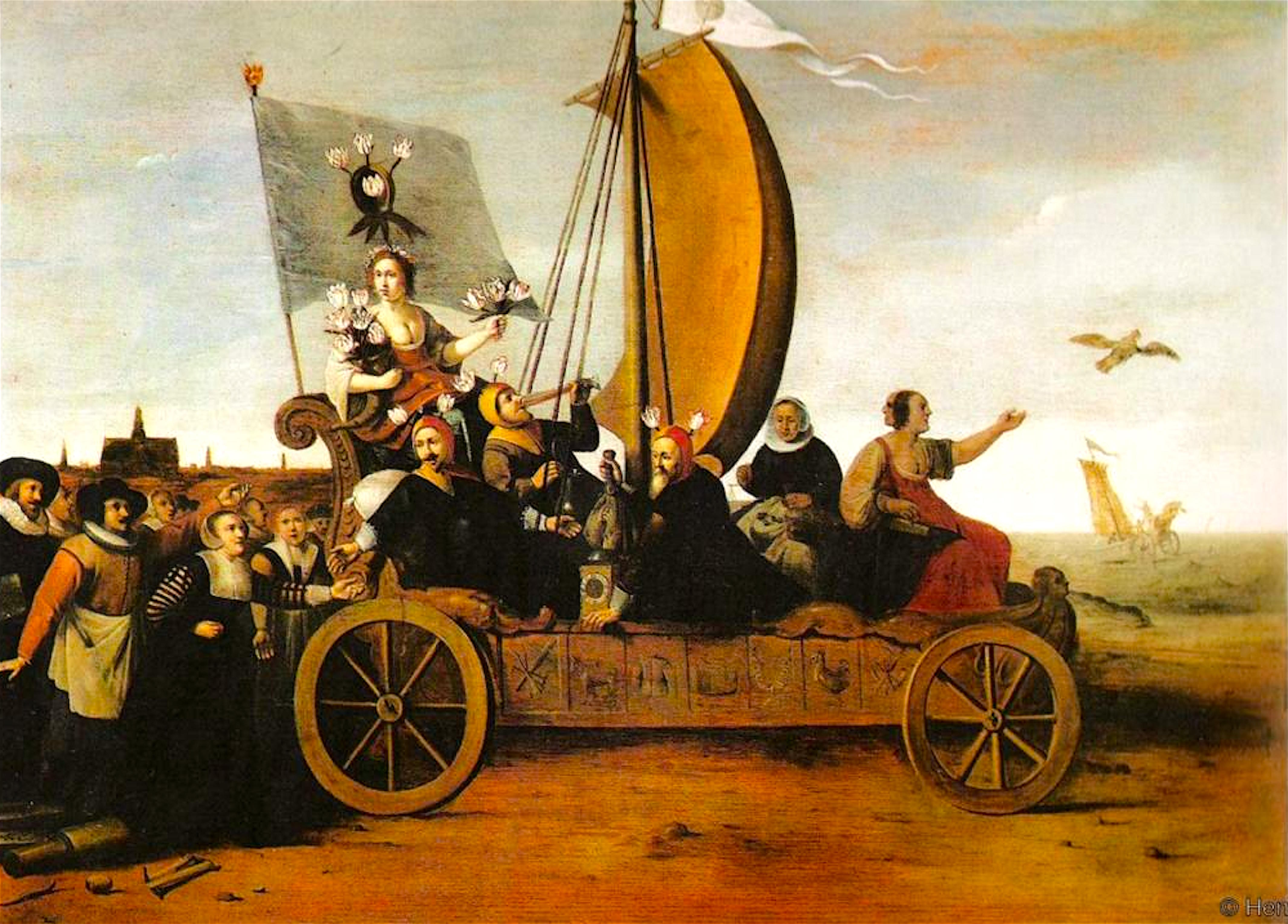 Anne Goldgar – Tulip Mania: the classic story of a Dutch financial bubble is mostly wrong
