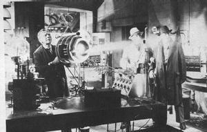 Hollywood's idea of Tesla's teleforce 'Death Ray'
