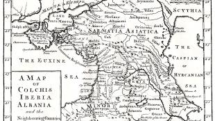 Kaart van Colchis