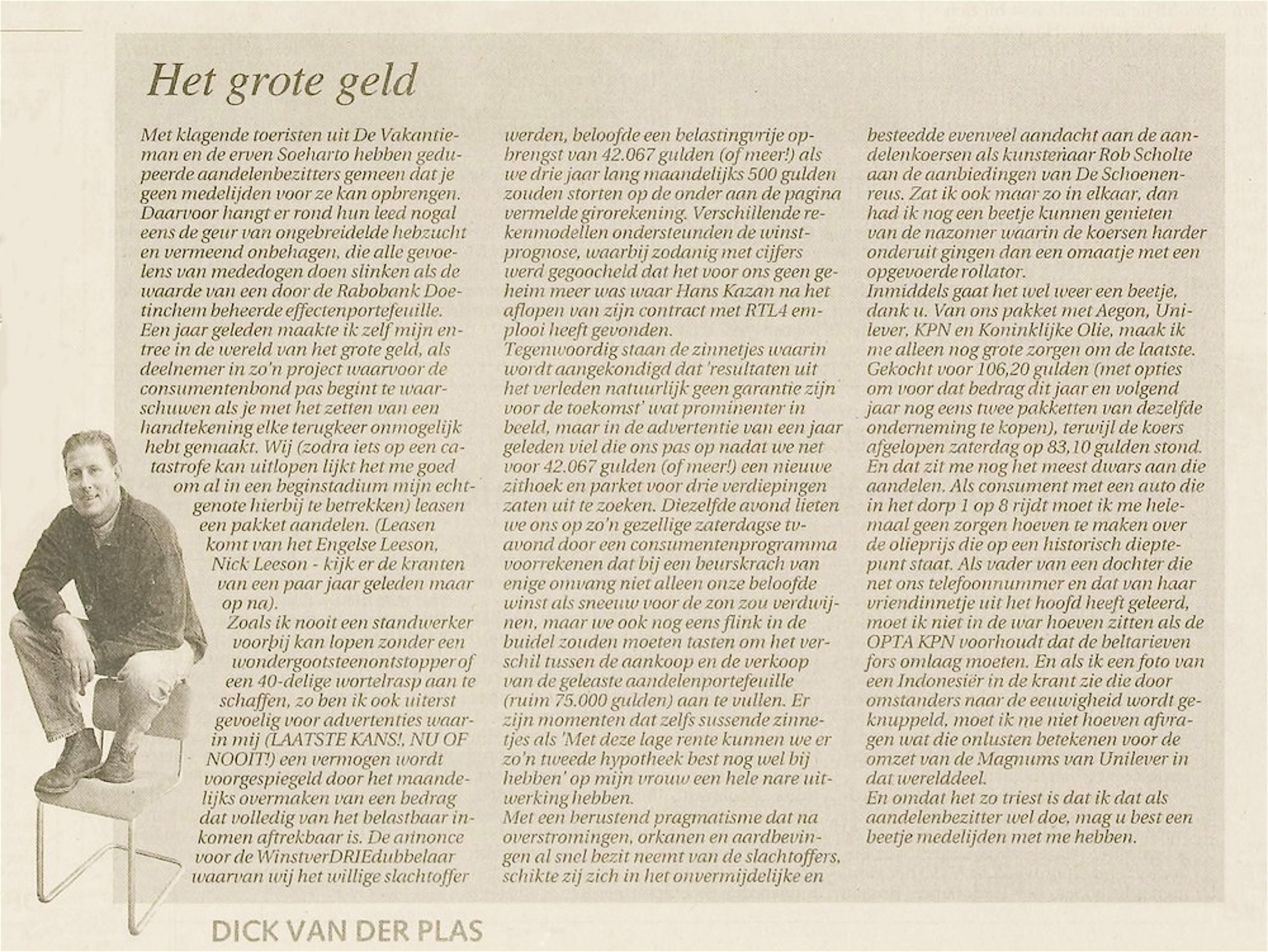 Leidsch Dagblad | 7 december 1998 | pagina 2 (2/30)