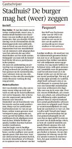 Helderse Courant, 11 maart 2018