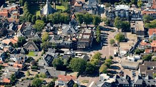 Het dorp Bergen in Noord Holland (foto NHD)