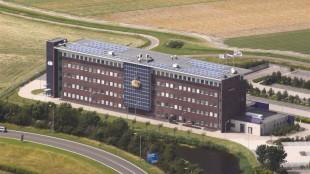 Het nieuwe stadhuis van Den Helder (foto Bedrijvengroep Niedorp)