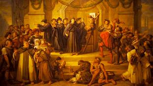 Julius Hübner - De 95 stellingen van Maarten Luther