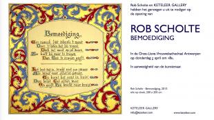 KETELEER GALLERY - Rob Scholte in de Kathedraal van Antwerpen Uitnodiging
