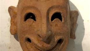 Masker uit Centro Fenicio di Monia (Foto Archivio APT Trapani)