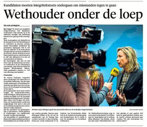 Noordhollands Dagblad, 20 maart 2018