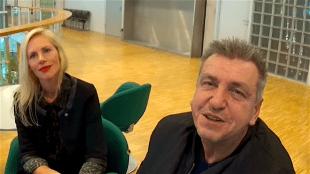 Rob Scholte en zijn vrouw Lijsje (foto Nico van den Ham)