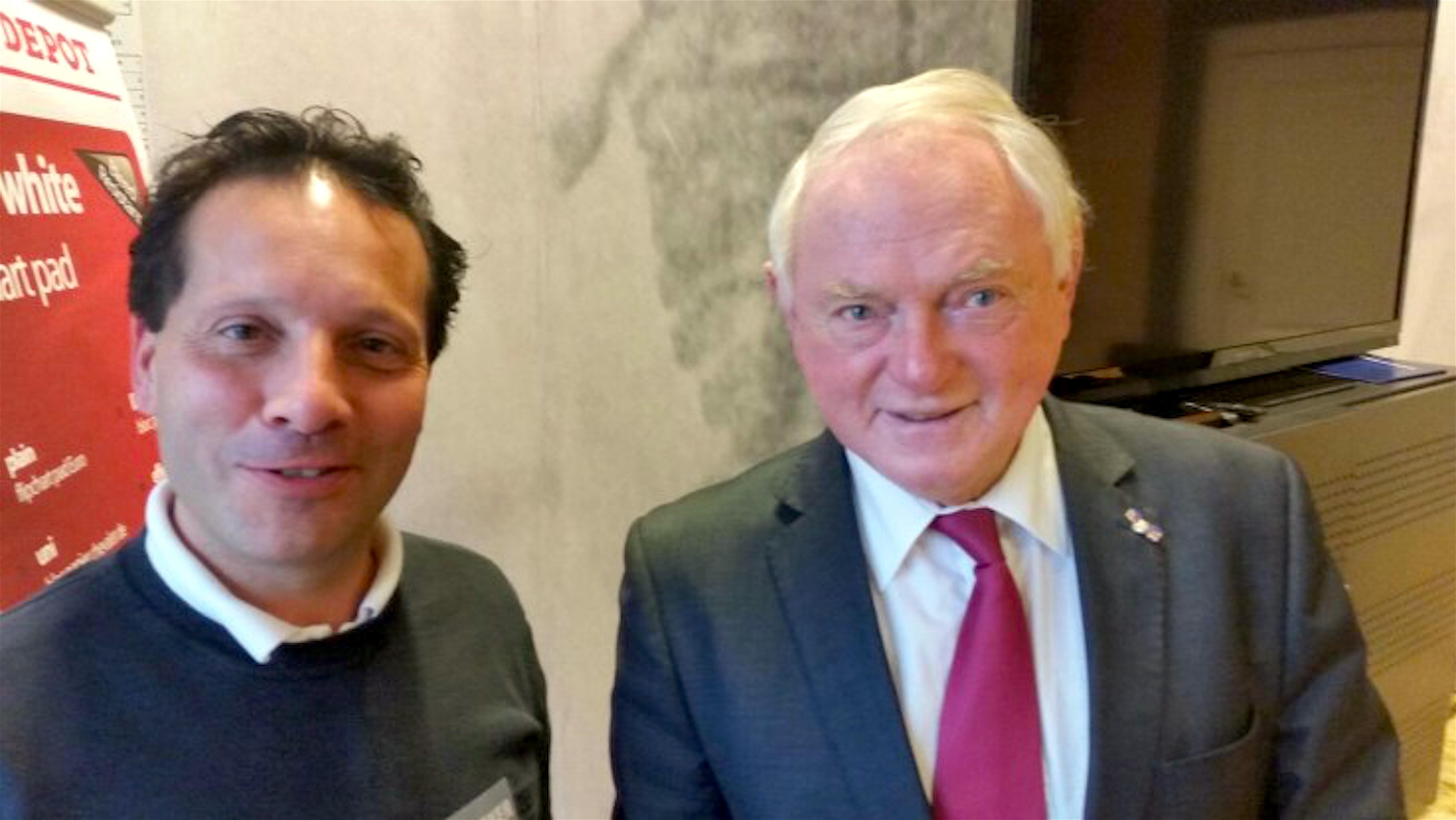Carlo Assorgia & Jan Nagel (foto LOS Den Helder)