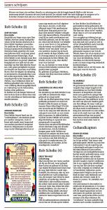 Helderse Courant - Lezers schrijven, Helderse Courant, 21 april 2018