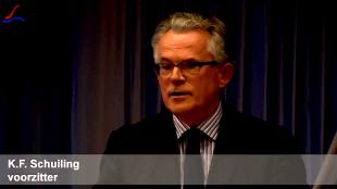 K.F. Schuiling, voorzitter (foto YouTube)