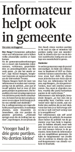 Noordhollands Dagblad, 9 april 2018