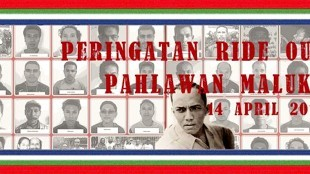 Peringatan Ride Out Pawlawan Maluku 14 april 2018 (foto AllEvents)