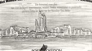 Port Poseidon, de beoogde 'apenrots' van Den Helder (foto skyscrapercity.com)