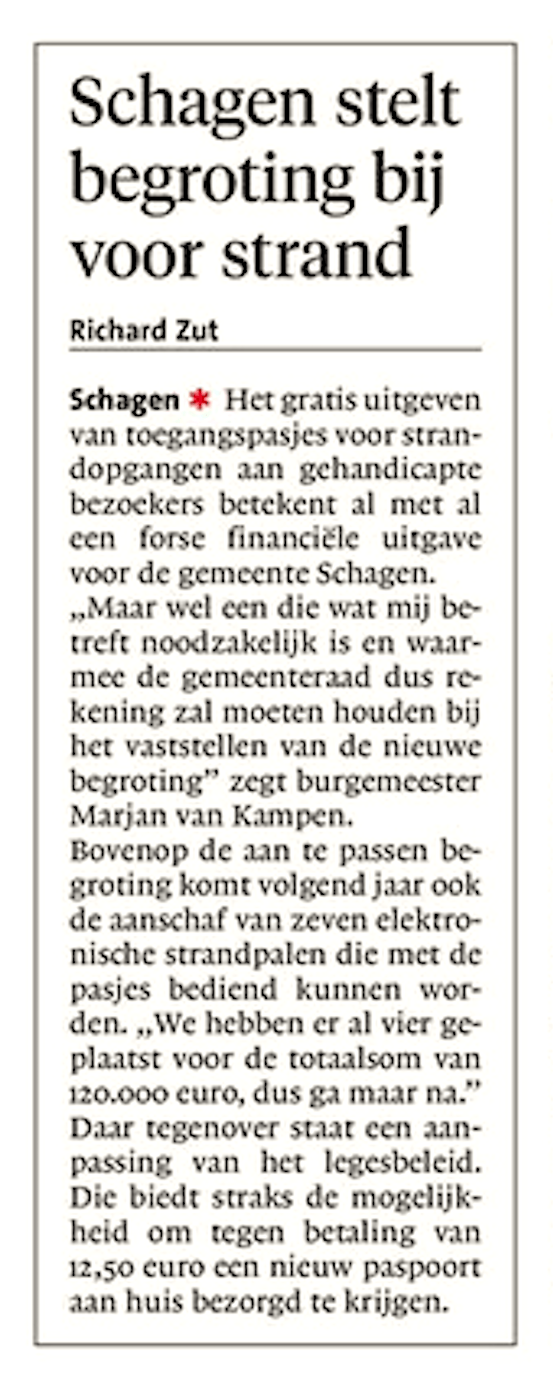 Schager Courant, 12 april 2018