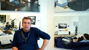 Rob Scholte in betere tijden in het museum (foto DHA)