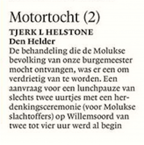 Helderse Courant, 14 april 2018