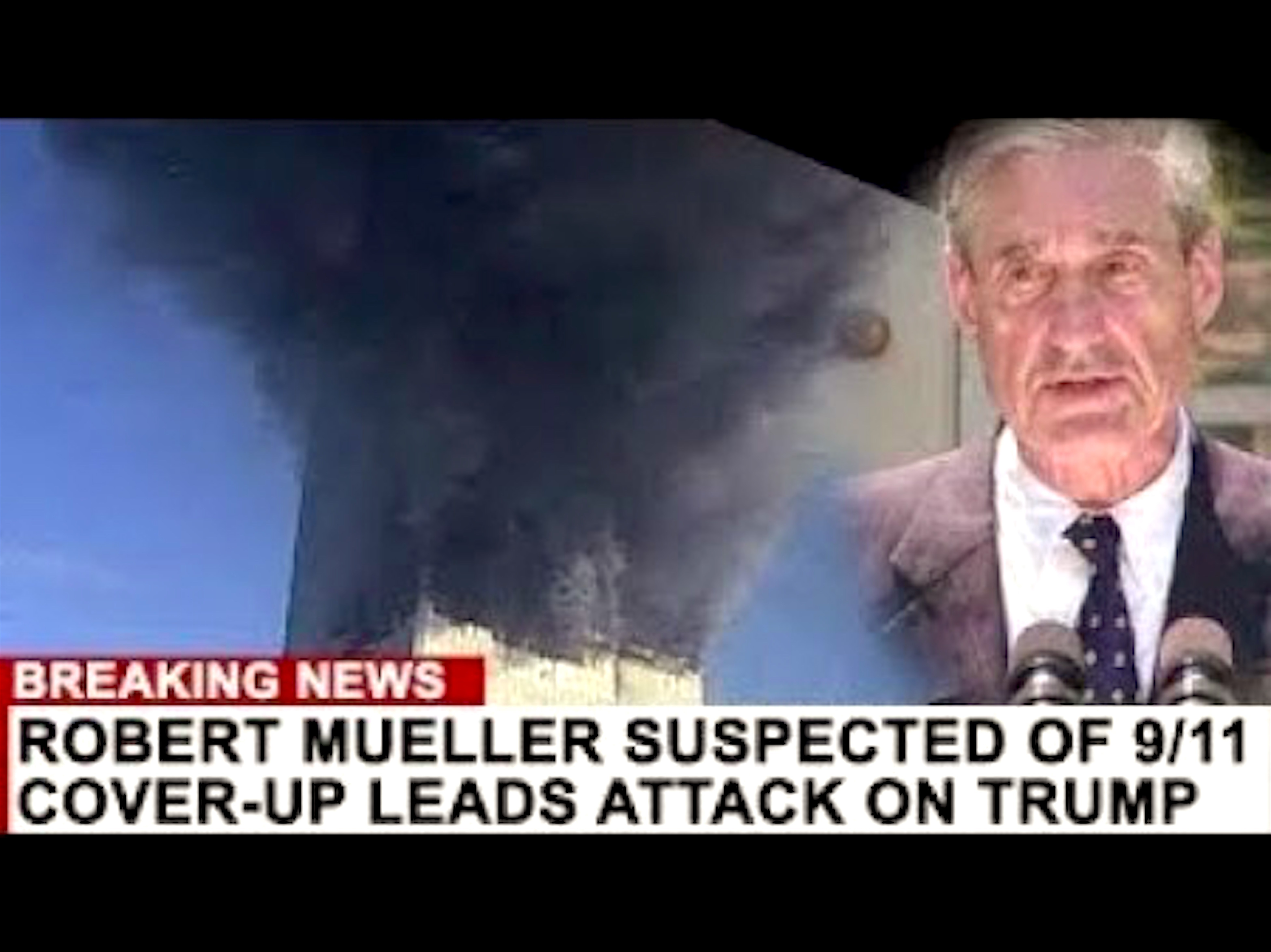 BREAKING NEWS Robert Mueller suspected of 9/11 cover-up leads attack on Trump (foto Before It's News)