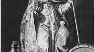 Cornelis Bloemaert II - De heilige Willibrordus (foto Rijksmuseum Amsterdam)