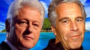 Jeffrey Epstein & Bill Clinton (foto Before It's News)