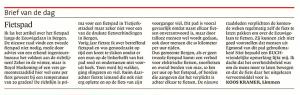 KAlkmaarse Courant, 1 mei 2018