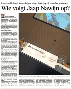 Courant, 12 mei 2018
