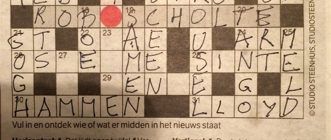 nrc puzzel oplossing