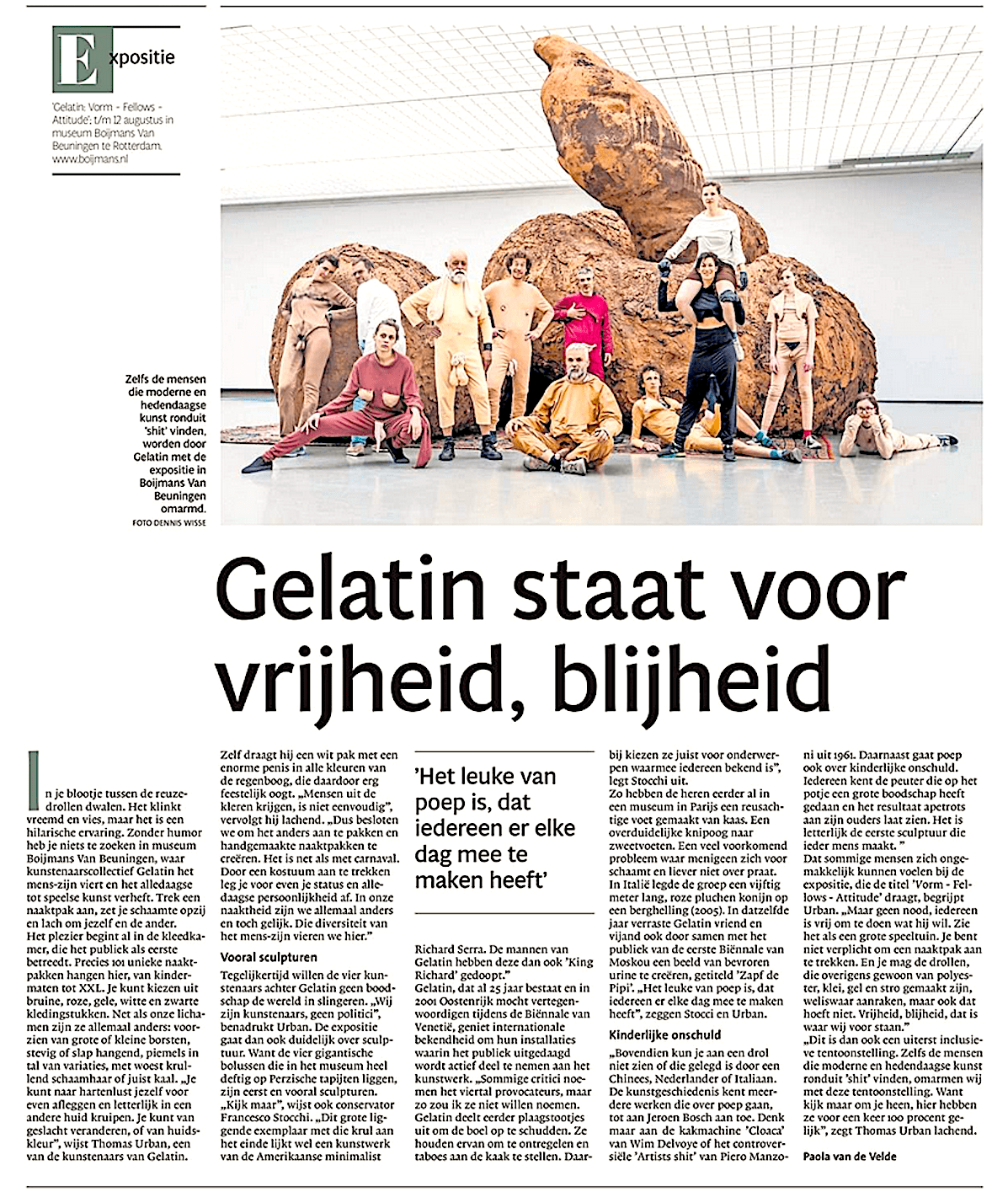 Noordhollands Dagblad, 24 mei 2018