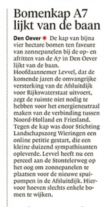 Schager Courant, 27 mei 2018