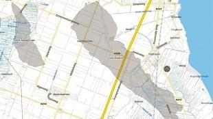 Het gasveld bij Middelie, dat de NAM weer in productie wil nemen (foto Milieudefensie)
