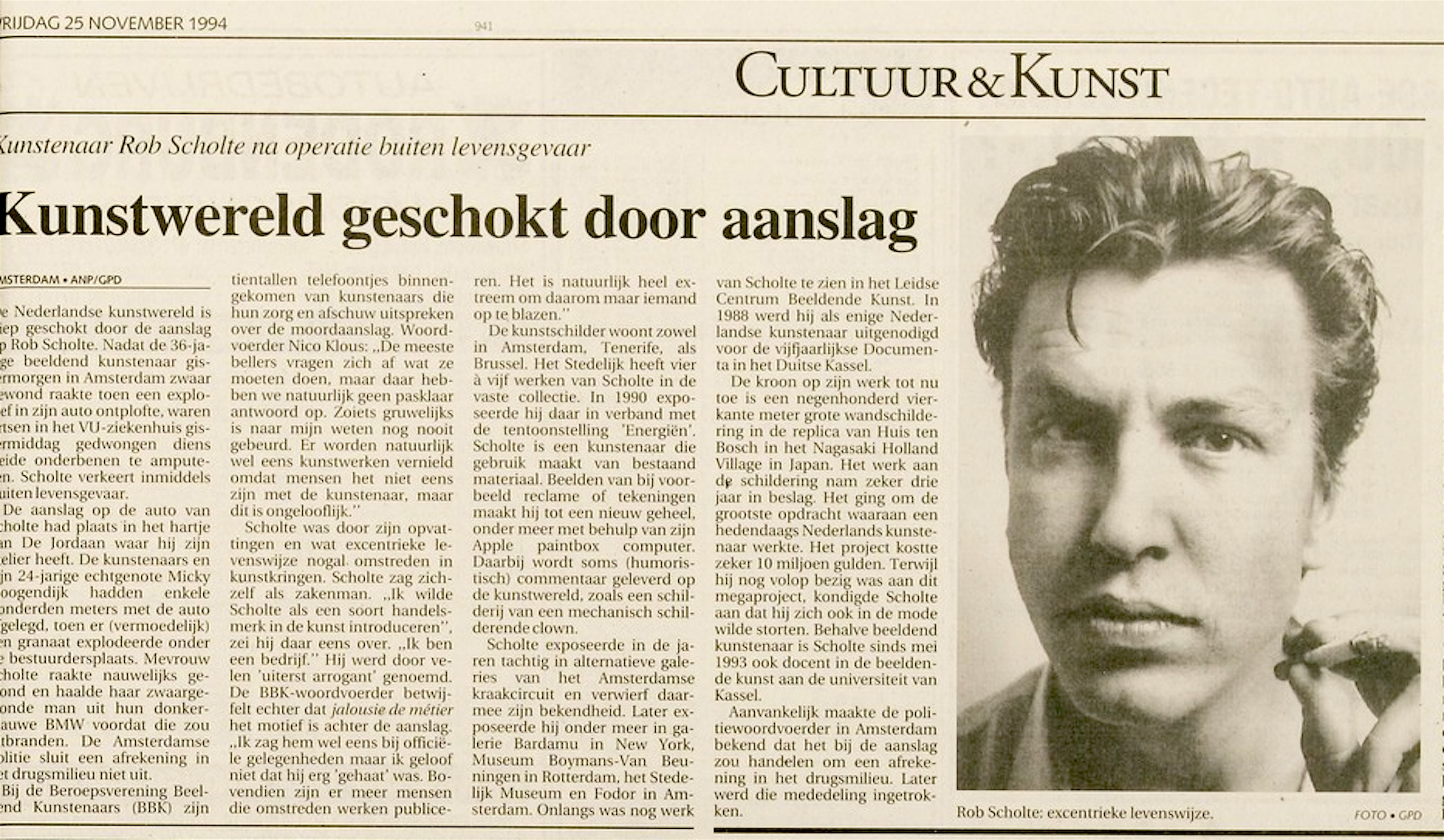 Leidsch Dagblad | 25 november 1994 | pagina 27 (27/36)