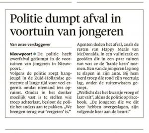 Noordhollands Dagblad, 5 juni 2018