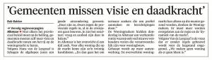 Alkmaarse Courant, 23 juni 2018