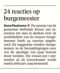 Schager Courant, 29 mei 2018