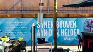 Samen bouwen aan Den Helder (foto Lili Brouwer/Twitter)