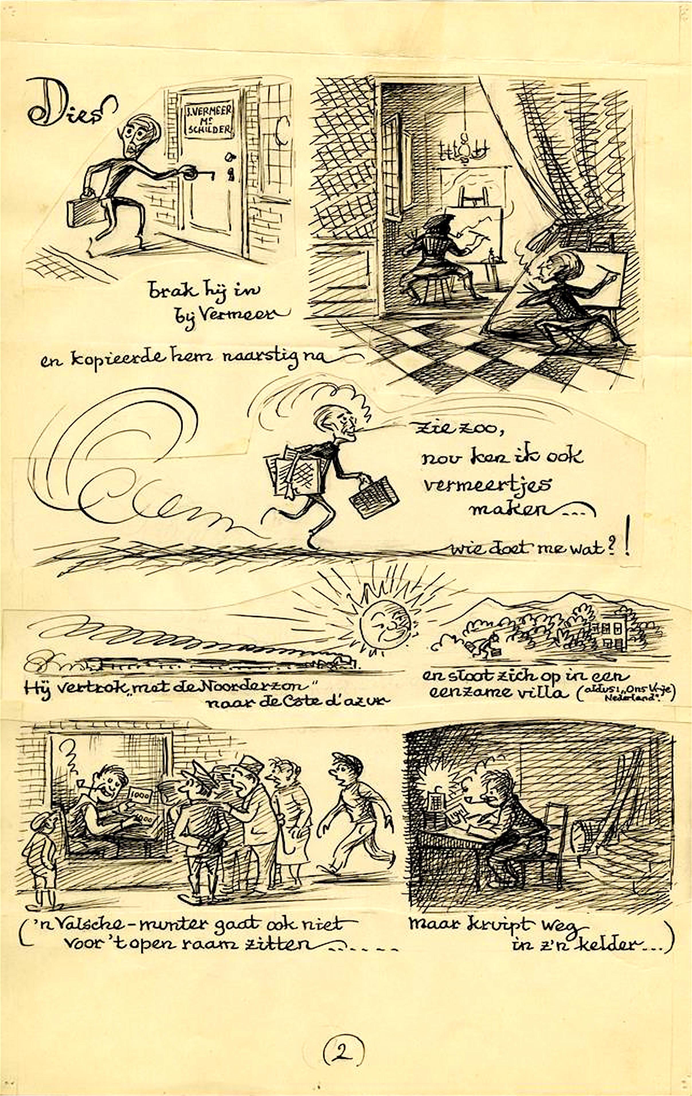 Ton van Tast – Het geval Van Meegeren (2): Een vlugschrift ter voorlichting