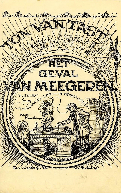 Ton van Tast – Het geval Van Meegeren (1): Een vlugschrift ter voorlichting