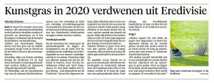 Alkmaarse Courant, 1 juni 2018