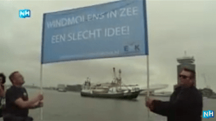 Windmolens in zee een slecht idee (footo YouTube)