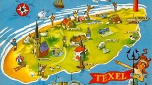 Ansichtkaart Texel (foto TFAZ)