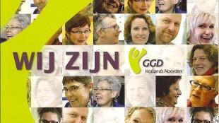 Cover Brochure Wij zijn GGD Hollands Noorden (foto ARD tekst en communicatie)