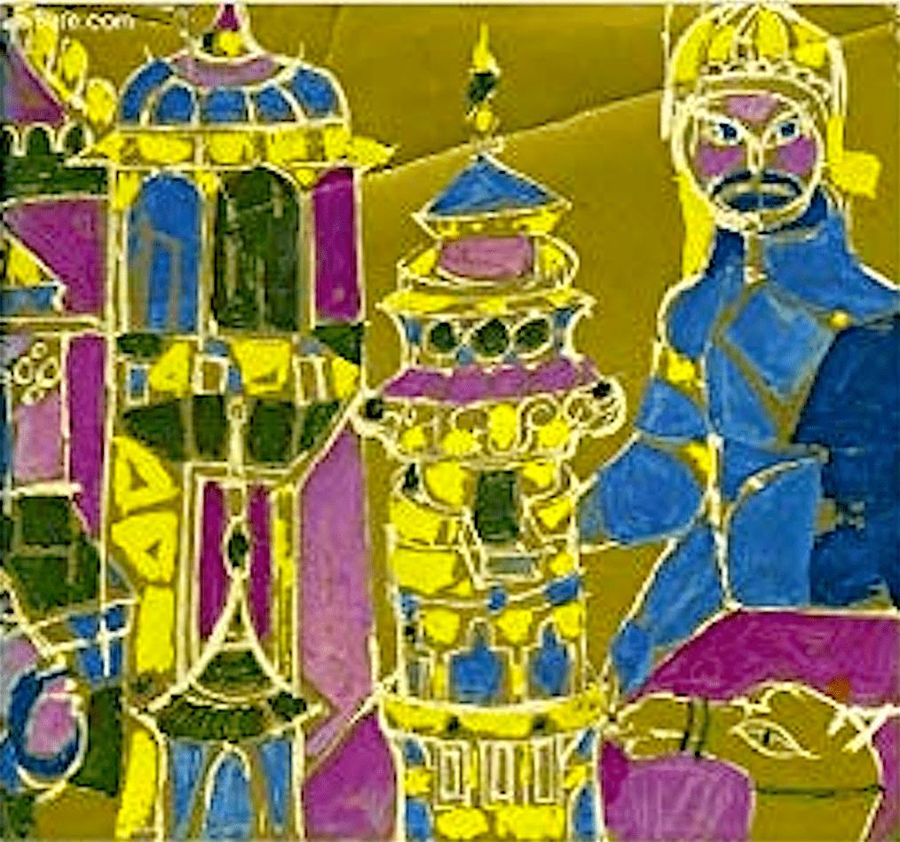 Cover Miloslav Troup – La steppe enchantee