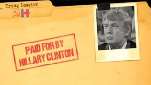 Donald Trump Dossier Steele Paid for by Hillary Clinton (foto Before It's News)