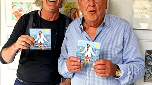 Hans de Booij & Willem van Kooten (foto Red Bullet/Instagram)