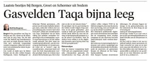 Alkmaarse Courant, 4 juli 2018