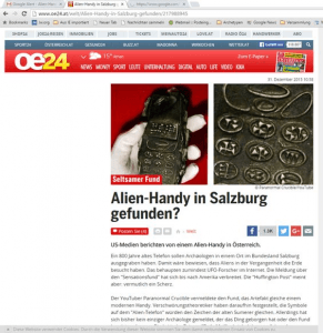 Screenshot OE24 (Art Replik)
